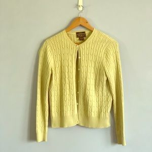 Cable knit Cardi -like new